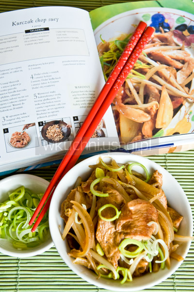 Kurczak chop suey