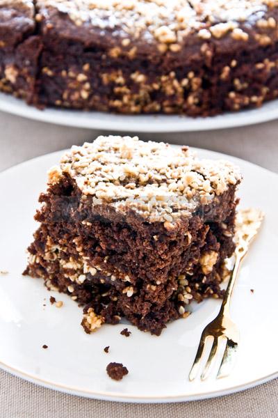 Brownie z sezamem