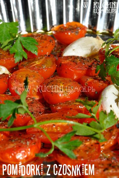 Pomidorki z czosnkiem