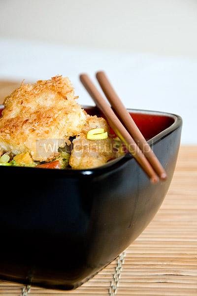 Ryba w kokosowym curry