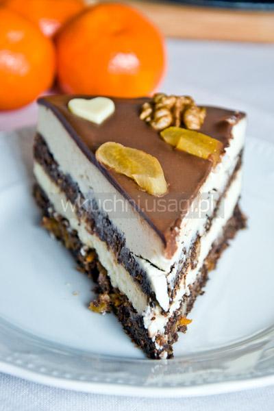 Tort makowy z twarogiem, seromak, seromakowiec