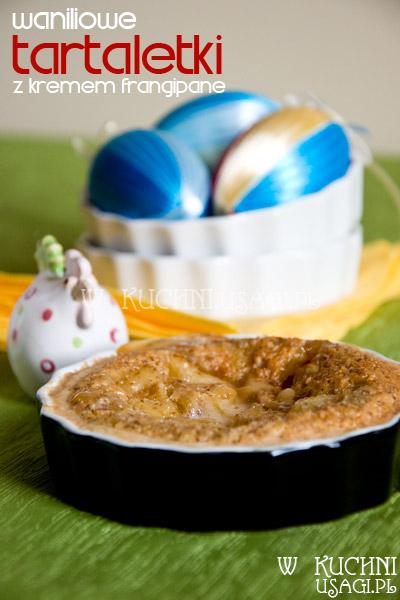 Tartaletki waniliowe z kremem frangipane